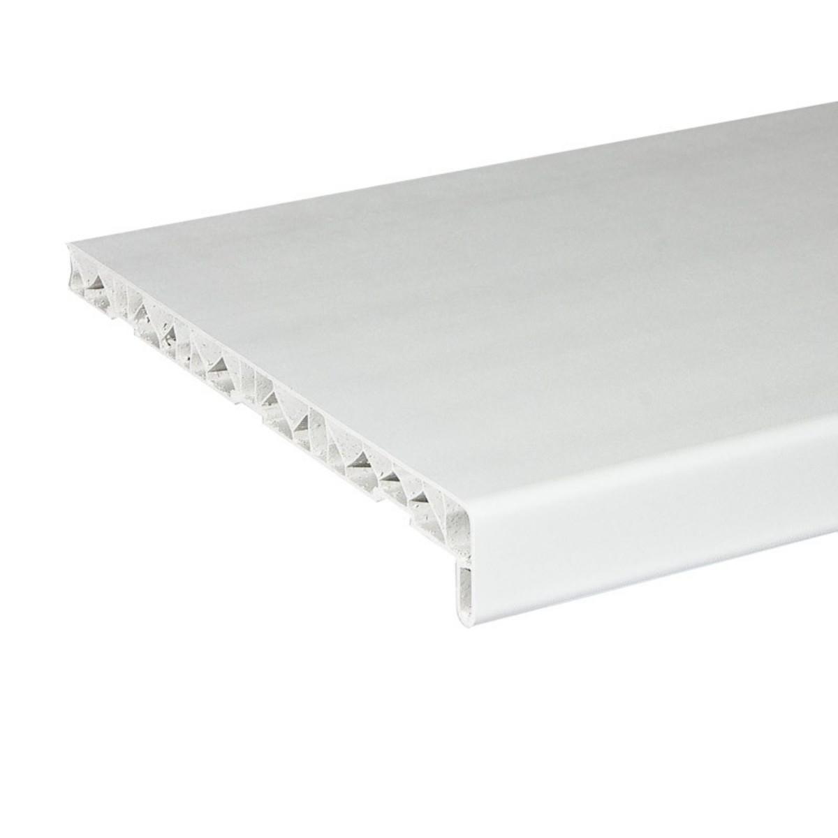 Подоконник ПВХ 300x1500 мм цвет белый