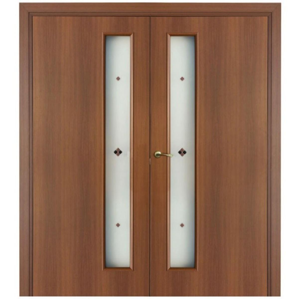 Дверь Межкомнатная Остеклённая Фортунато 2x60x200 Ламинация Цвет Ясень