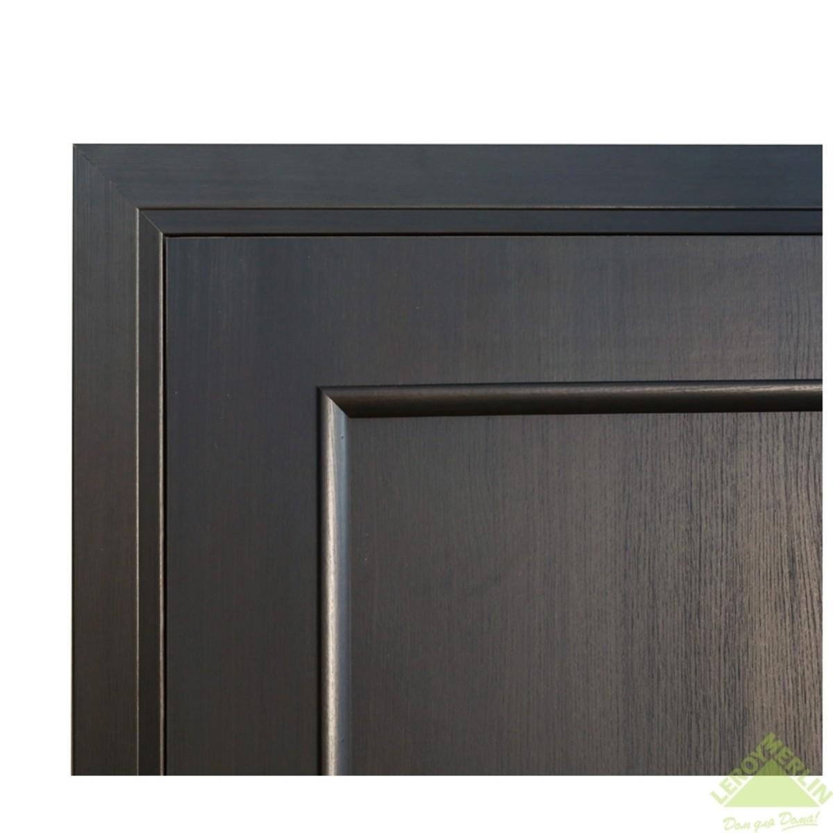 Дверь Межкомнатная Глухая Фортунато 820 600x2000 Венге