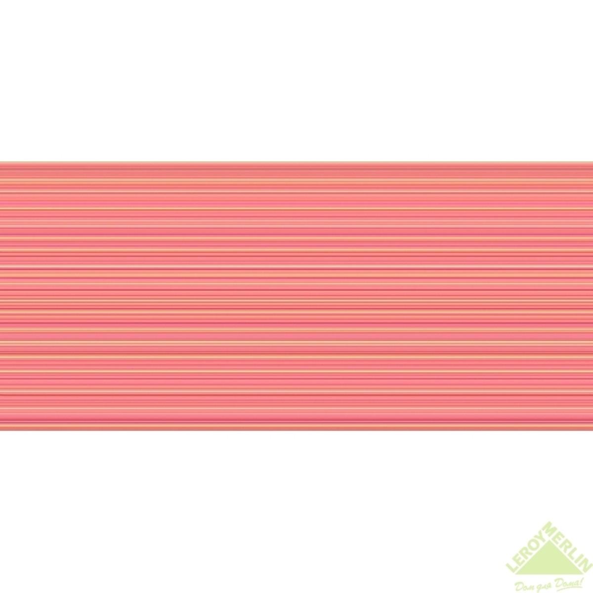 Плитка настенная Sunrise цвет оранжевый 20x44 см 105 м2