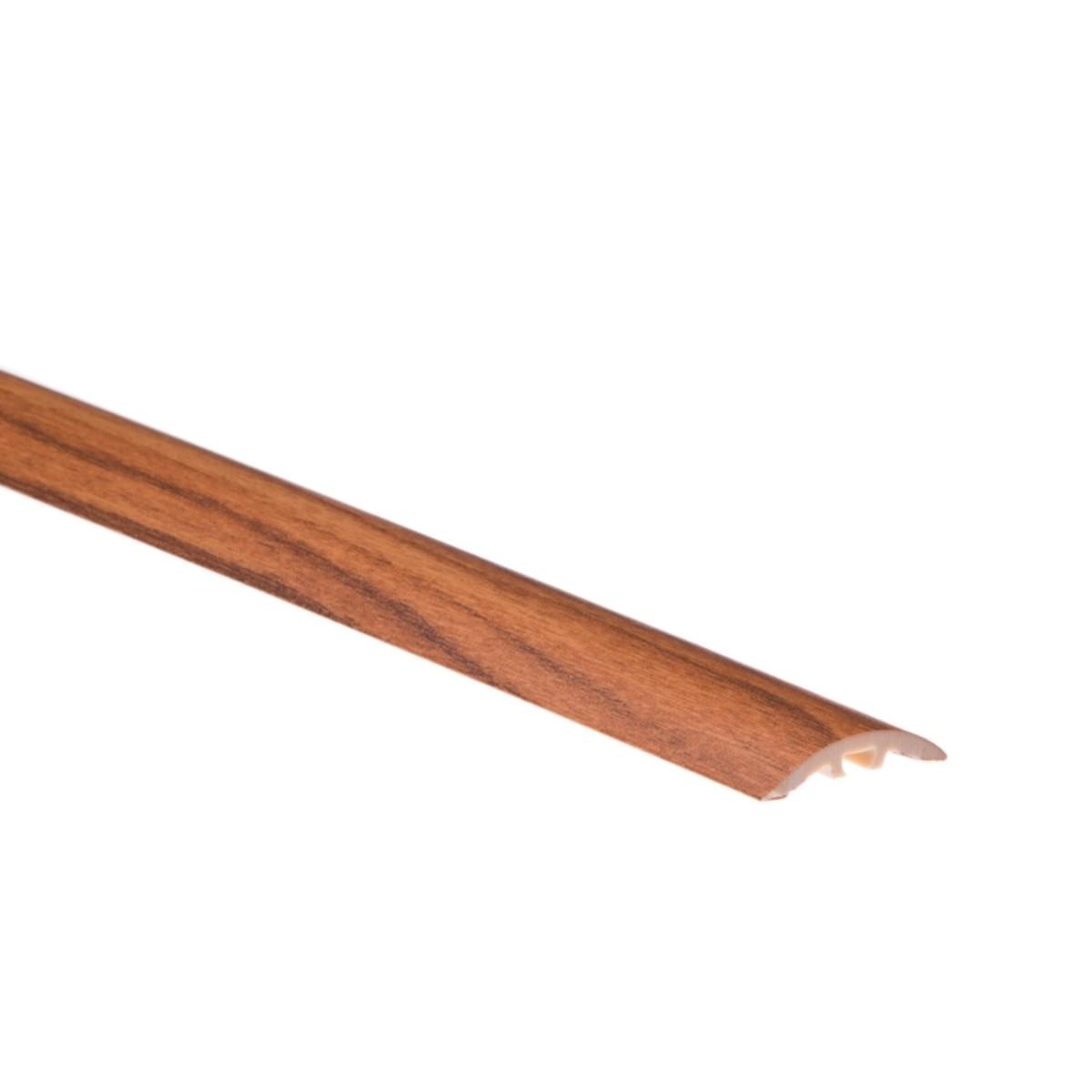 Порог одноуровневый (стык) с креплением Орех золотой 30 мм х 09 м