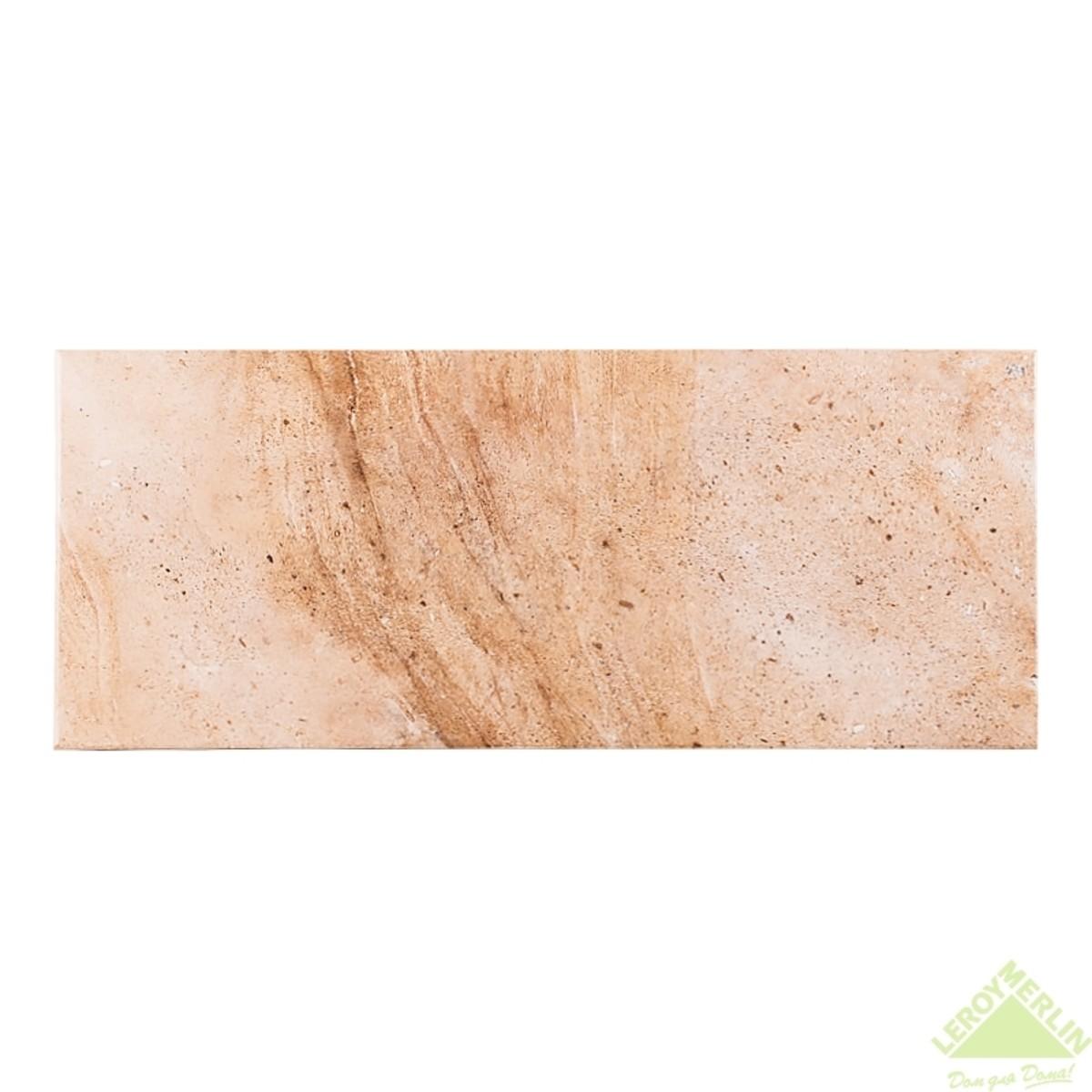Плитка настенная Sonora beige 25х60 см 15 м2
