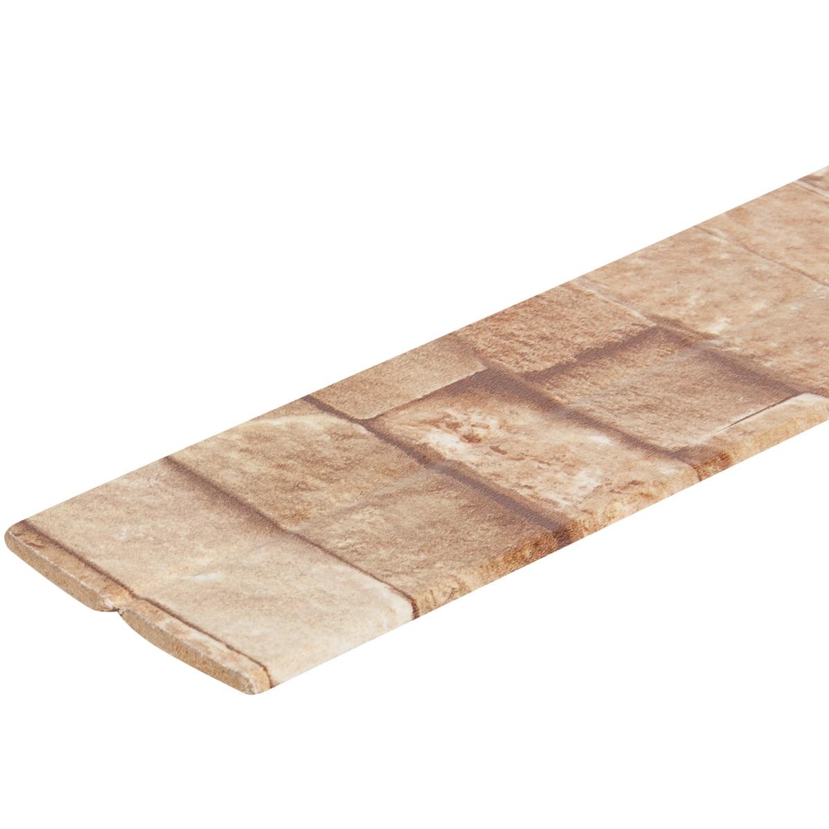 Уголок МДФ универсальный Камень оливковый 28x28x2600 мм