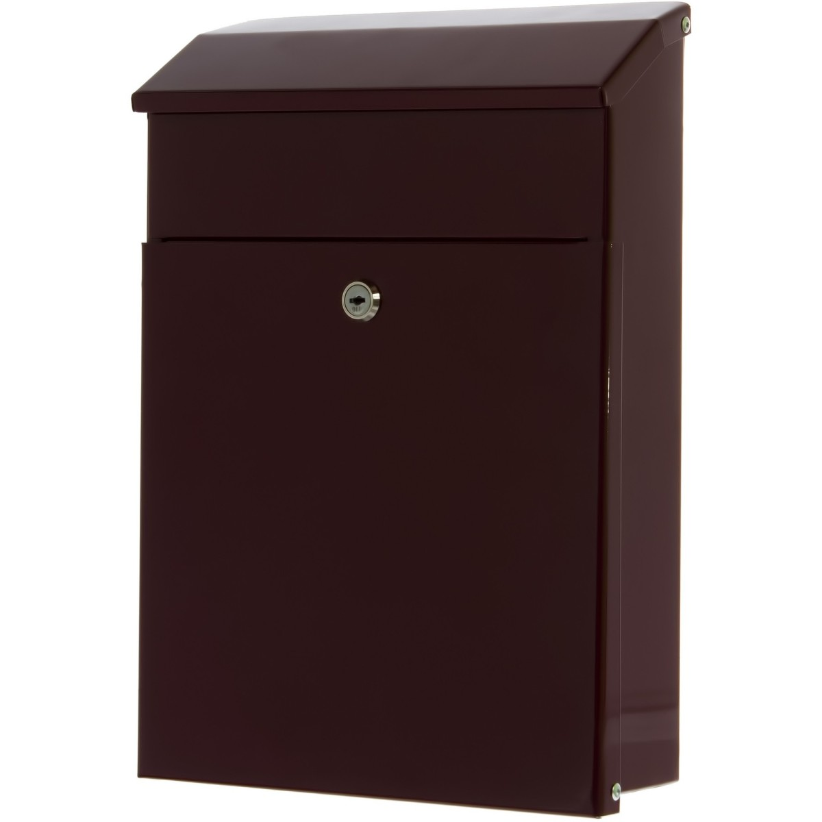 Ящик почтовый сталь цвет бордовый