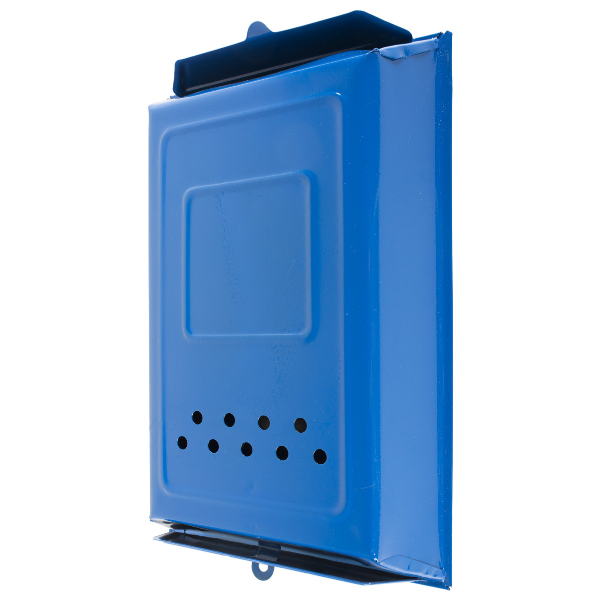 Ящик почтовый цвет синий
