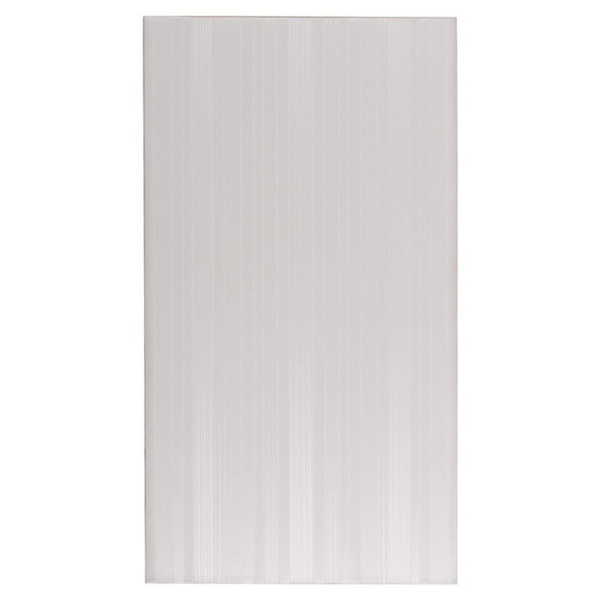 Плитка настенная Бьюти Сноу Лайн 25х45 см 1.46 м2 цвет белый