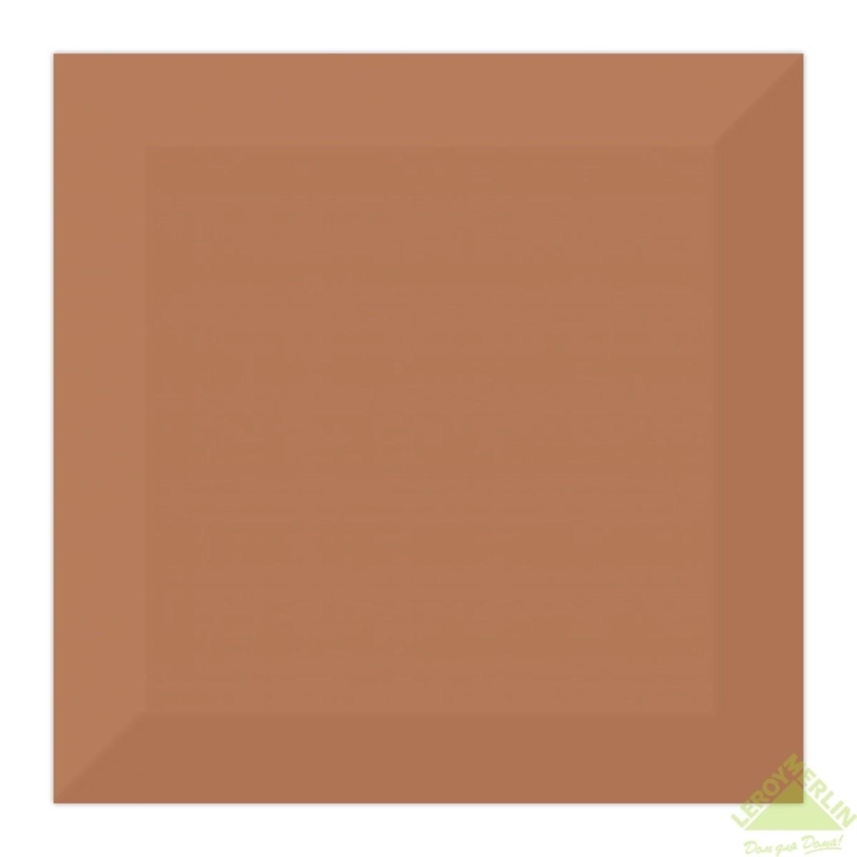 Плитка настенная Порто цвет коричневый 15x15 см 1035 м2