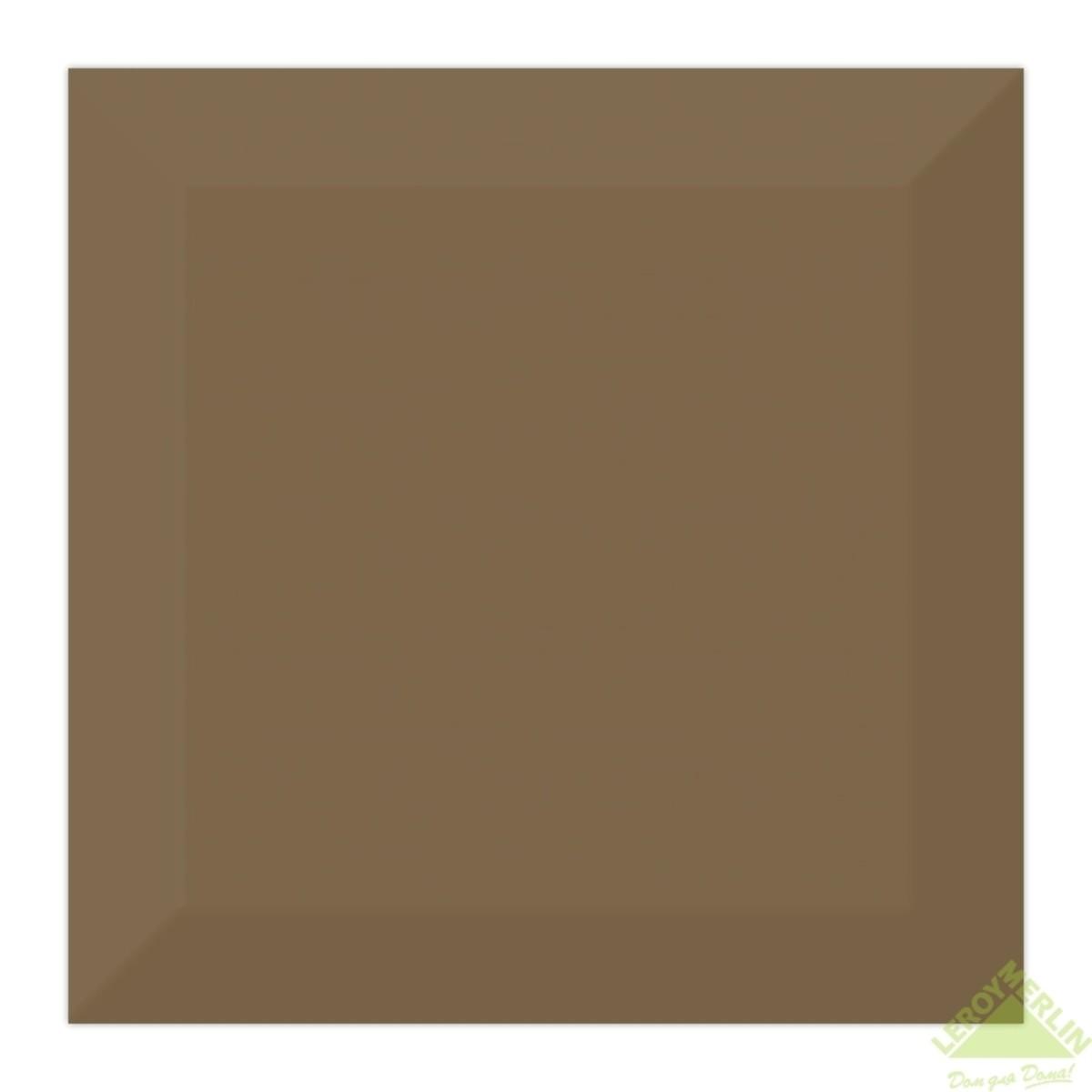 Плитка настенная Порто цвет шоколад 15x15 см 1035 м2
