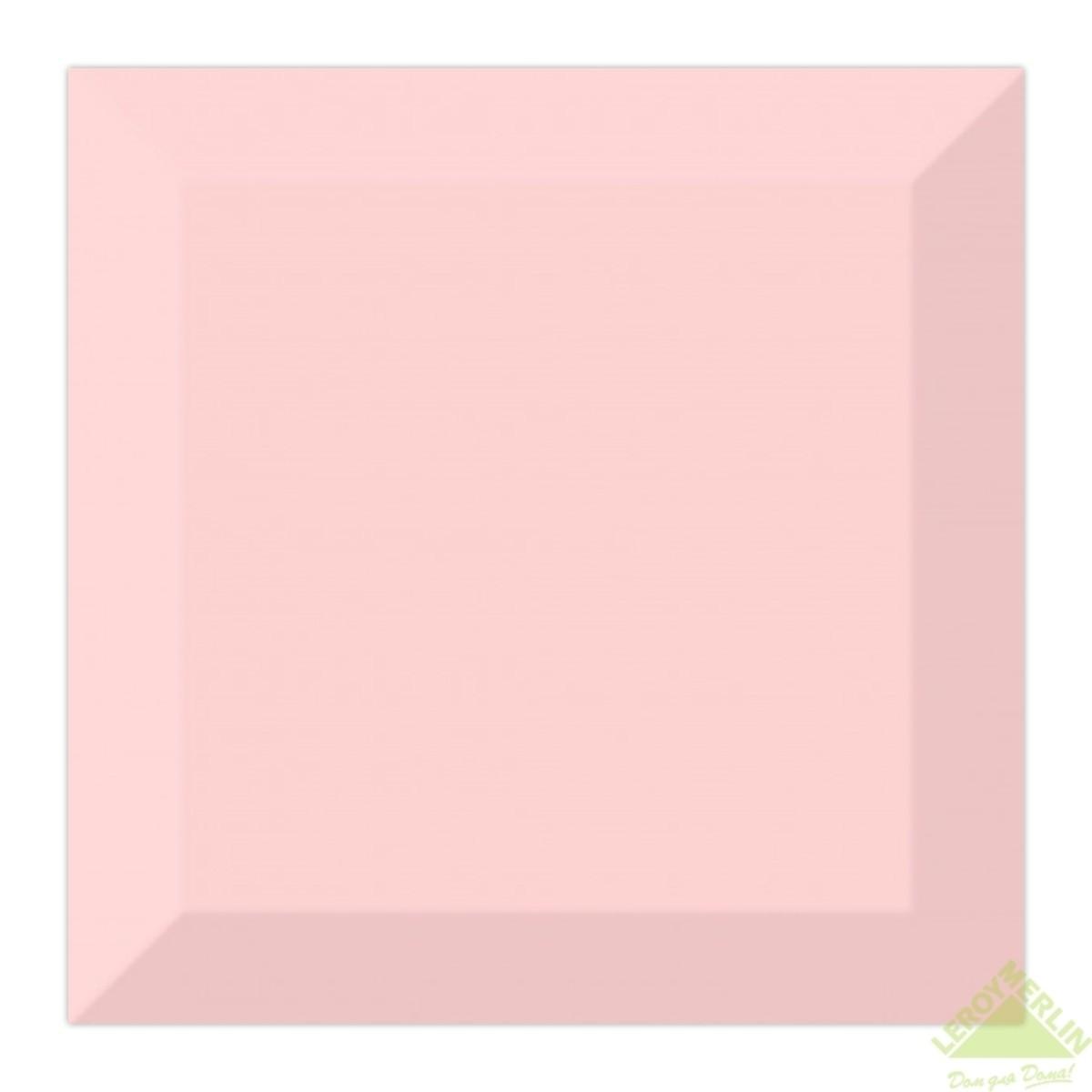 Плитка настенная Порто 15x15 см цвет розовый 1035 м2