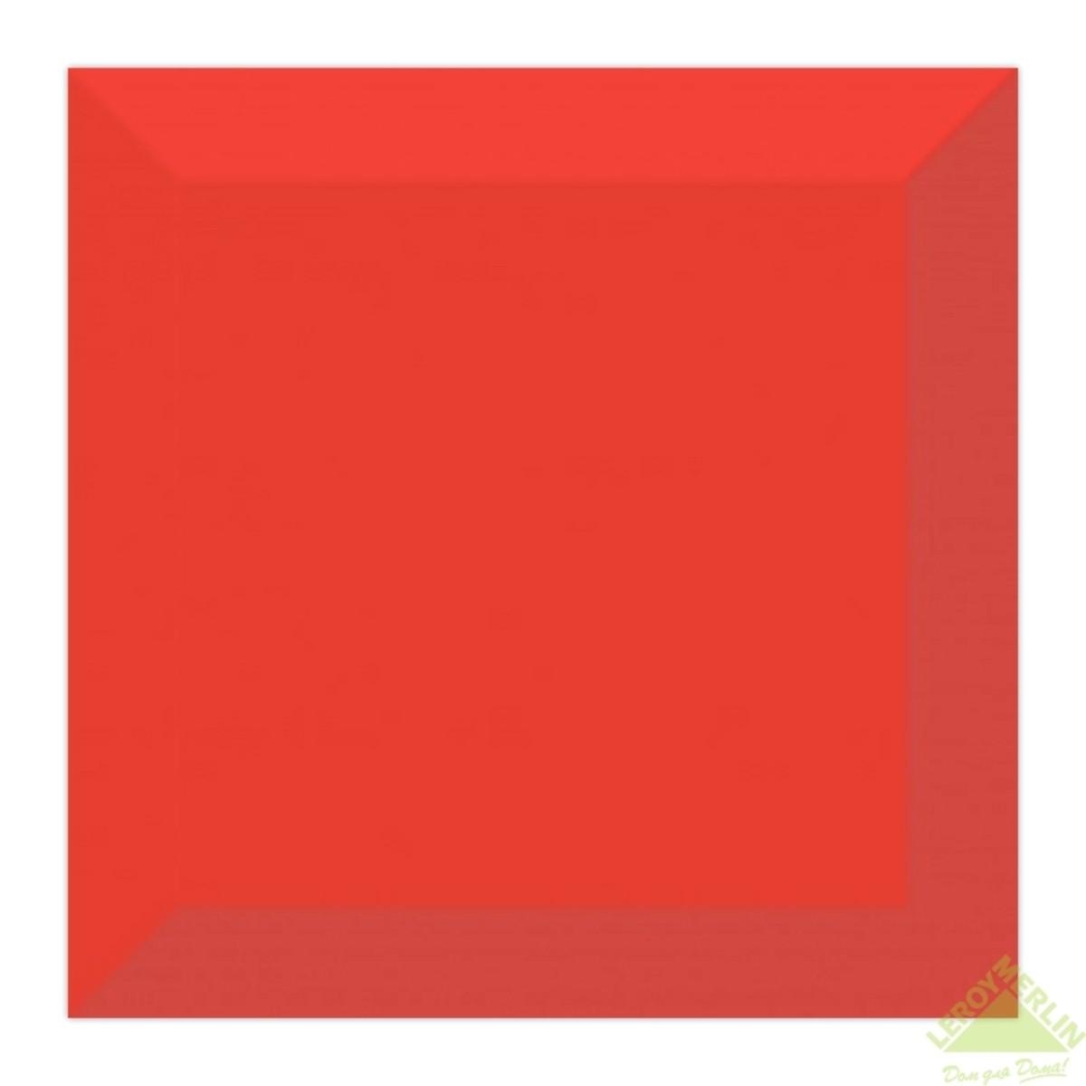 Плитка настенная Порто 15x15 см цвет красный 1035 м2