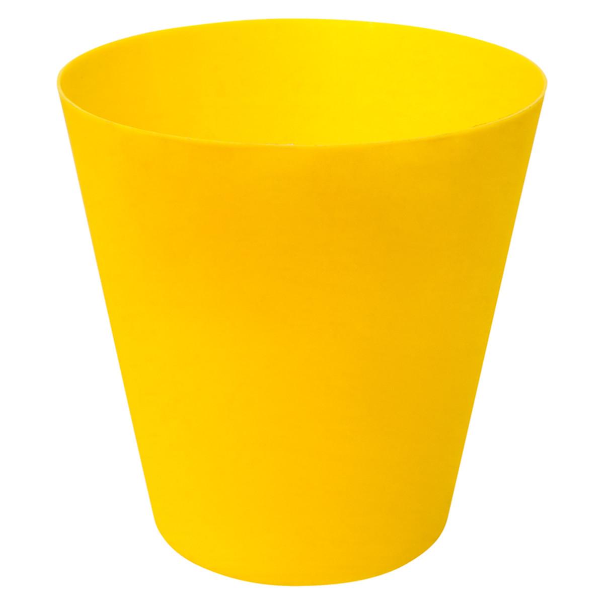 Плафон Belize 17.5 см пластик цвет желтый