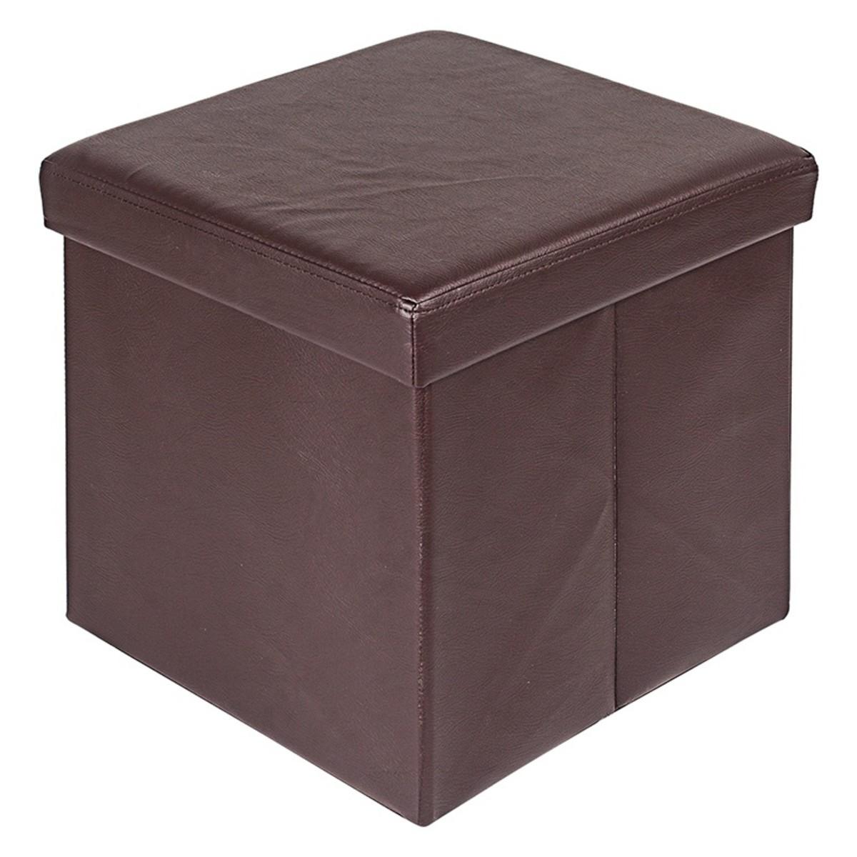 Короб Hausmann для хранения 38x38x38 см цвет коричневый