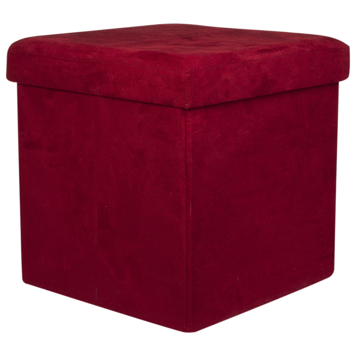 Короб Hausmann для хранения 38x38x38 см цвет бордовый
