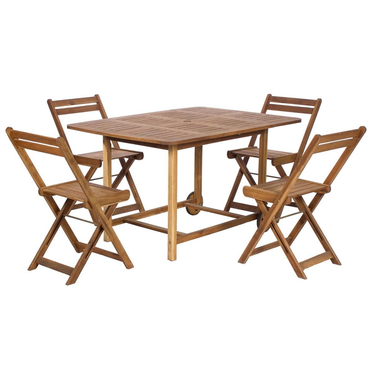 Набор садовой мебели NATERIAL 5 предметов