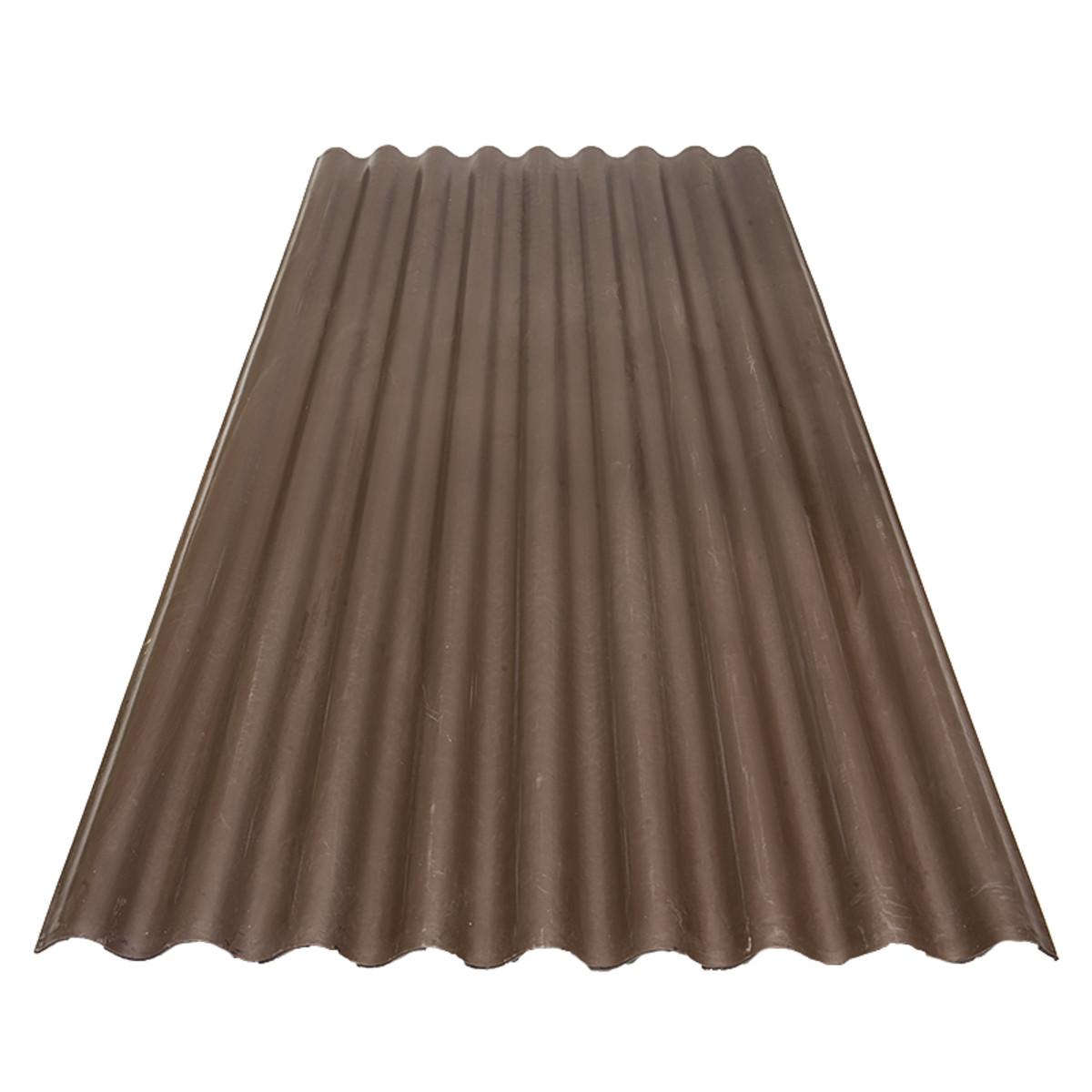 Лист Керамопласт 5x900x2000 мм цвет коричневый