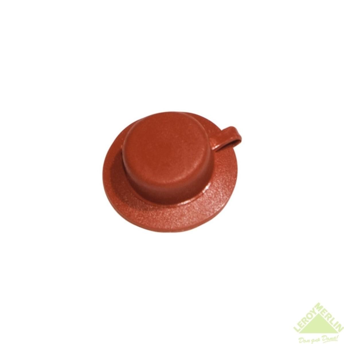 Колпачки защитные Керамопласт цвет терракотовый 100 шт.