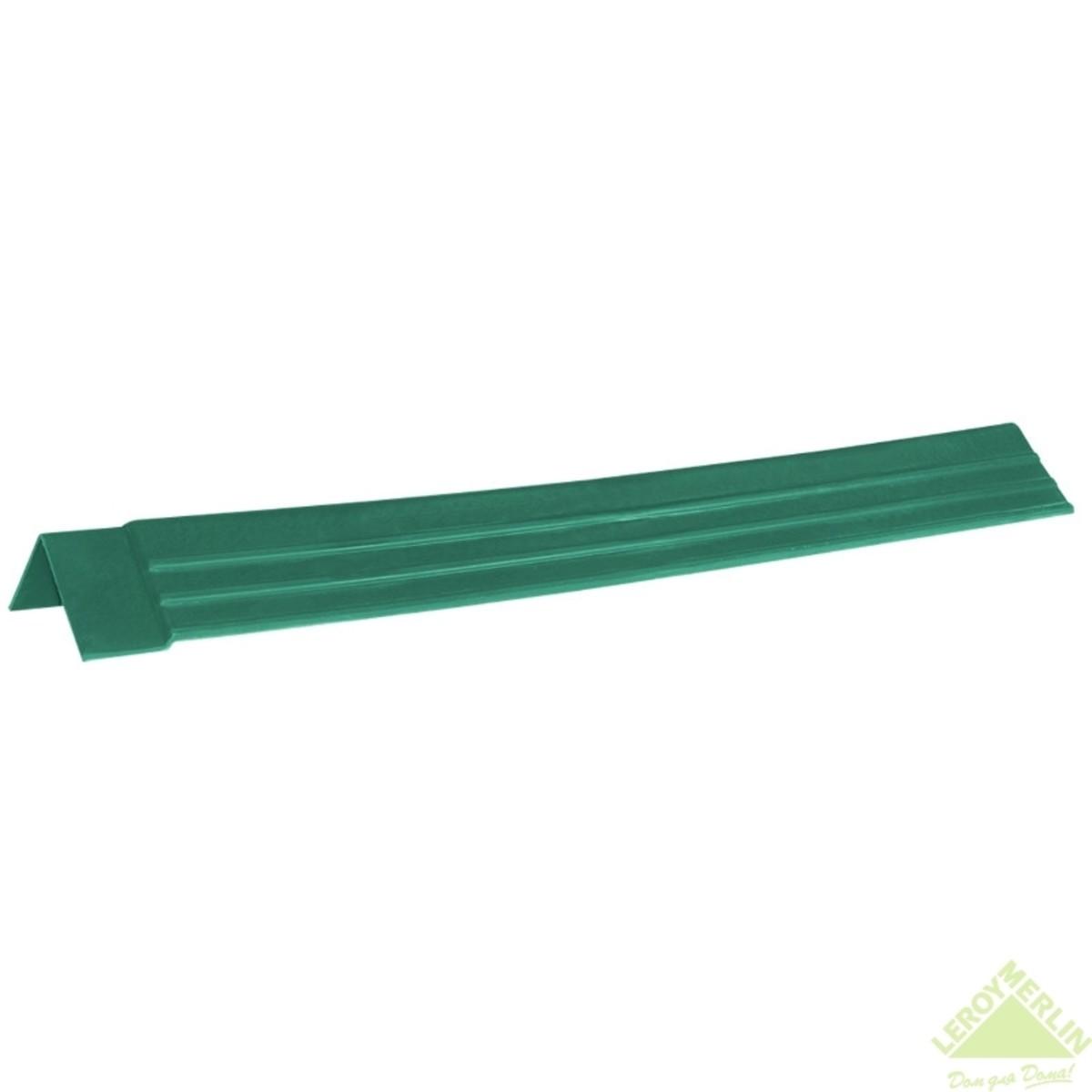 Планка ветровая Керамопласт 5x150x1210 мм цвет изумрудный