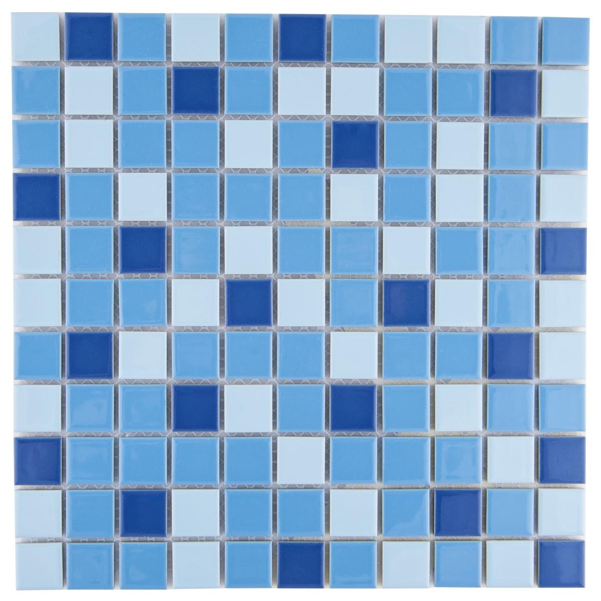 Мозаика Artens 29.7х29.7 см керамика цвет синий