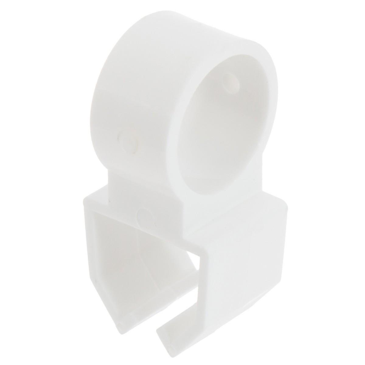 Держатель U-шины цвет белый 2 шт.
