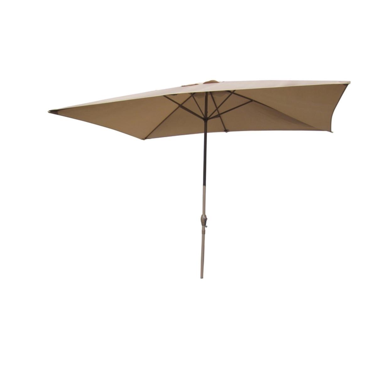 Зонт дачный 3 м бежевый металл/полиэстер