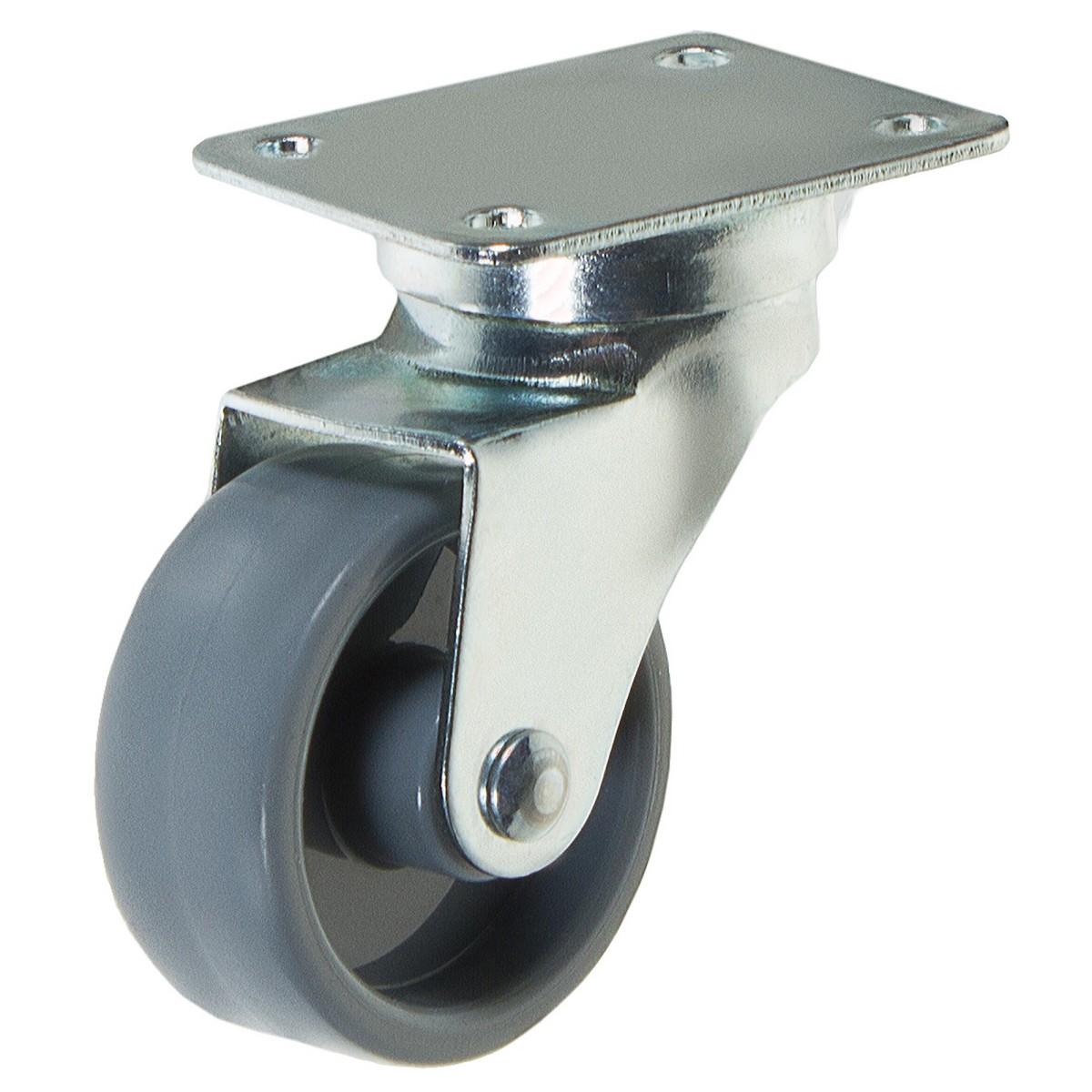 Колесо Amig 6716 40 мм поворотное без тормоза