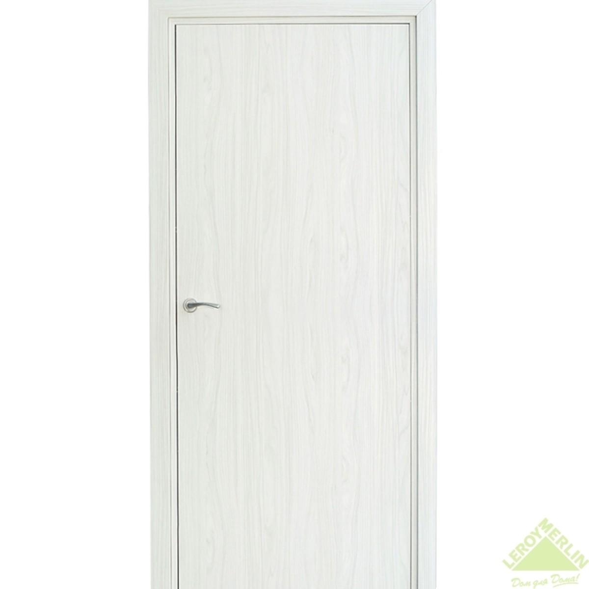 Дверь межкомнатная глухая Фортунато 800 600x2000 мм снежный палисандр