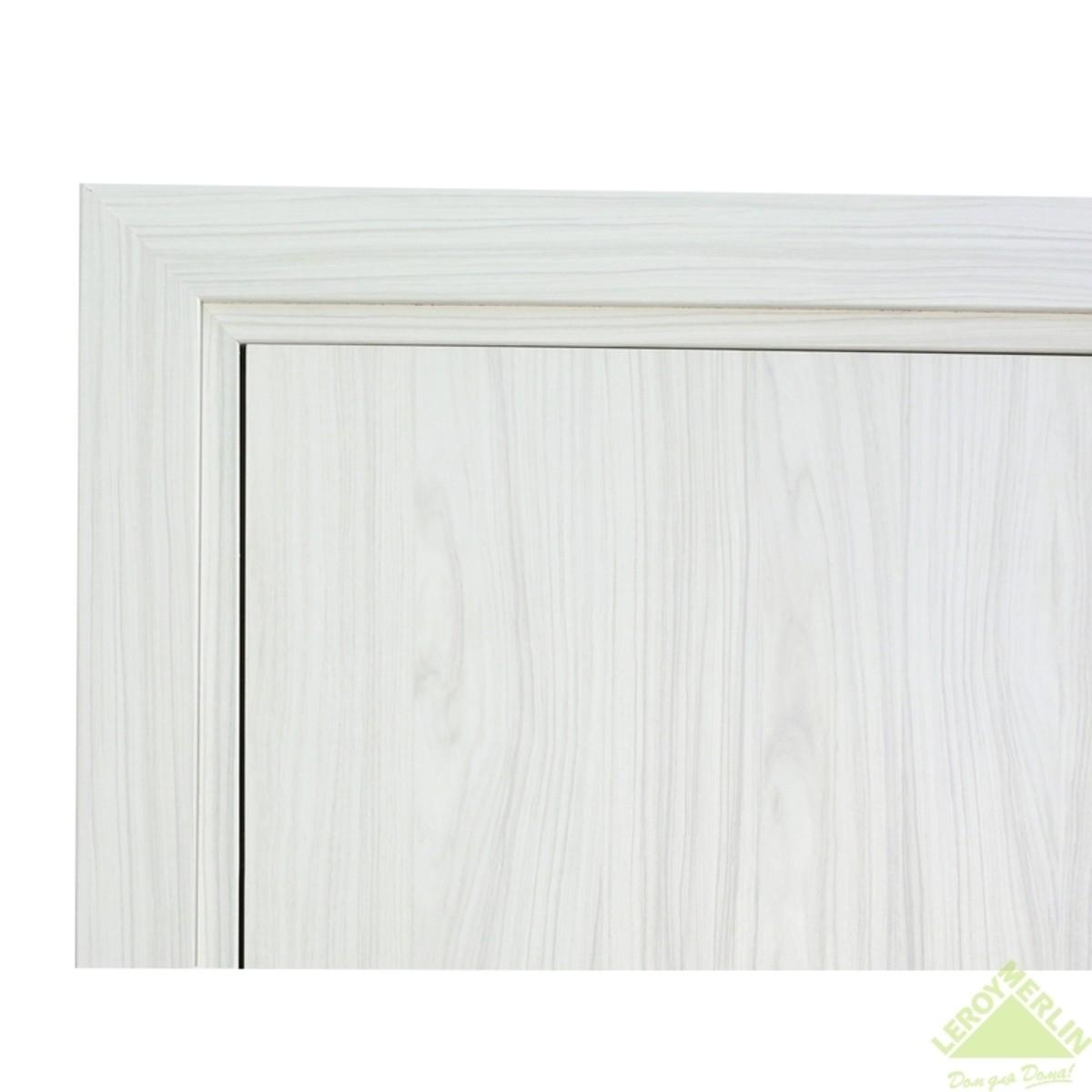 Дверь Межкомнатная Глухая Фортунато 800 900x2000 Снежный Палисандр