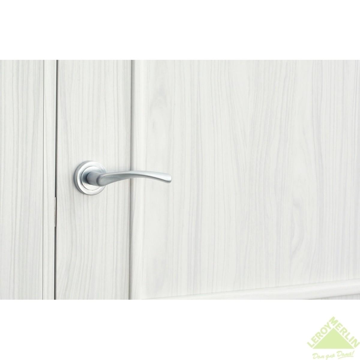 Дверь Межкомнатная Глухая Фортунато 820 900x2000 Снежный Палисандр