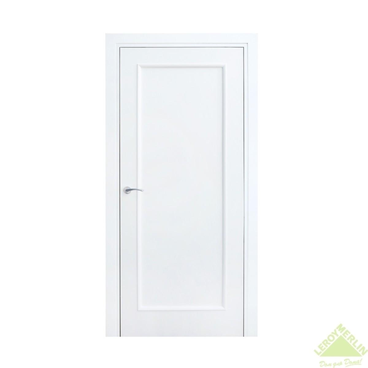 Дверь межкомнатная глухая Фортунато 810 600x2000 мм белый