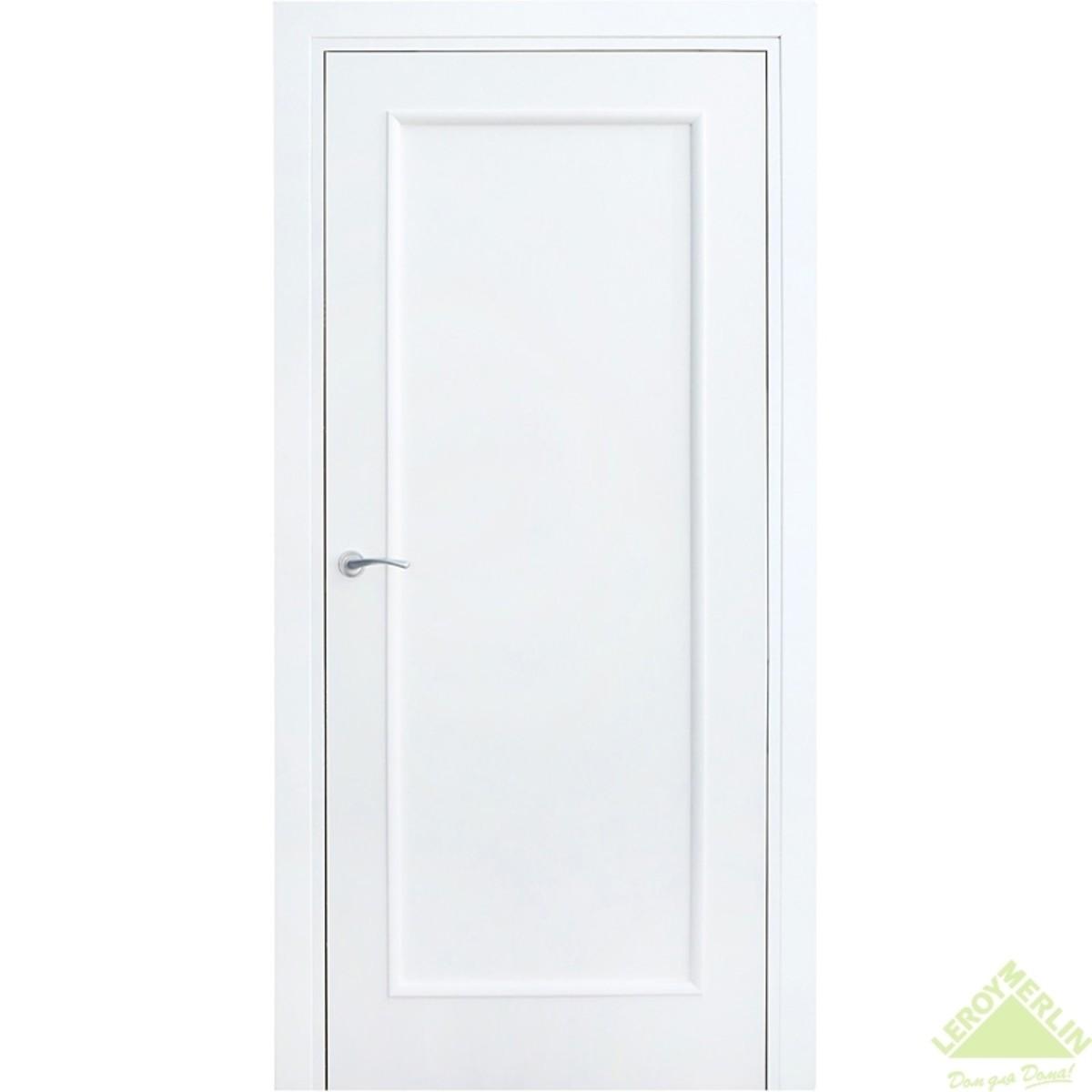 Дверь межкомнатная глухая Фортунато 810 800x2000 мм белый