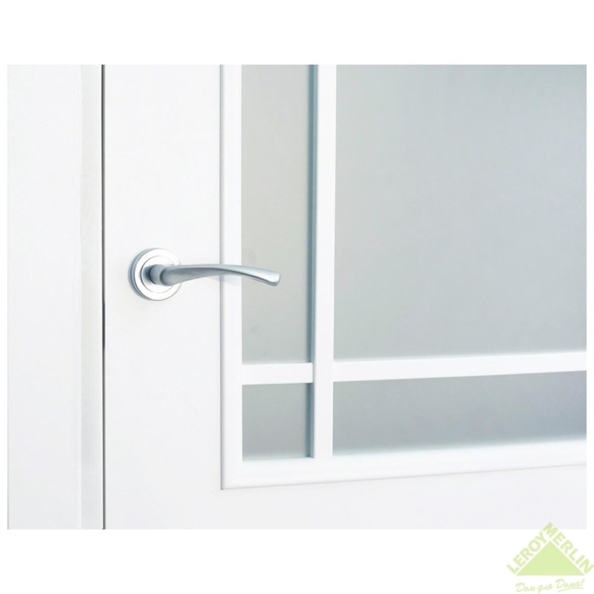 Дверь Межкомнатная Остеклённая Фортунато 819 900x2000 Белый