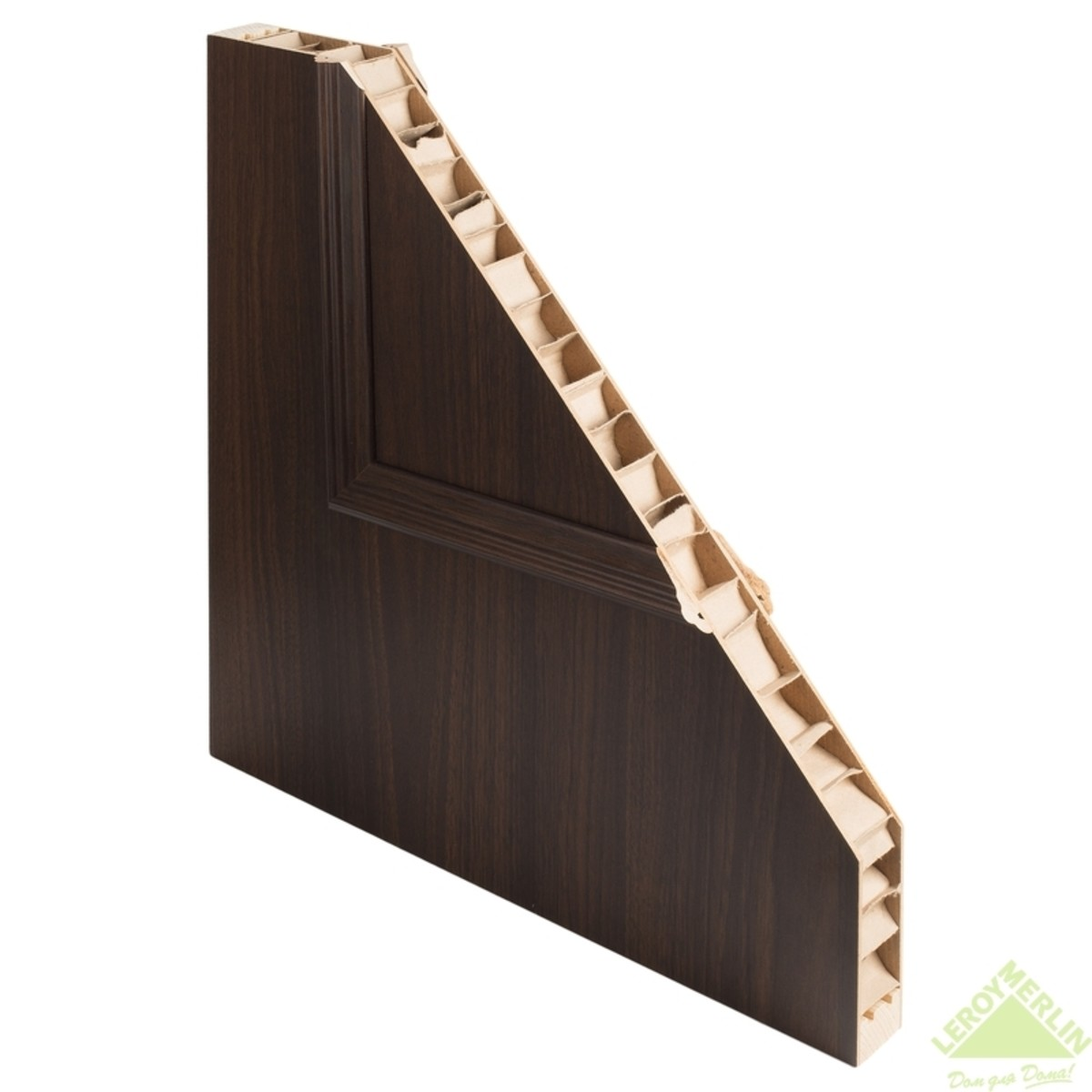 Дверь Межкомнатная Остеклённая Альтро 820 2Х600x2000 Орех Марроне