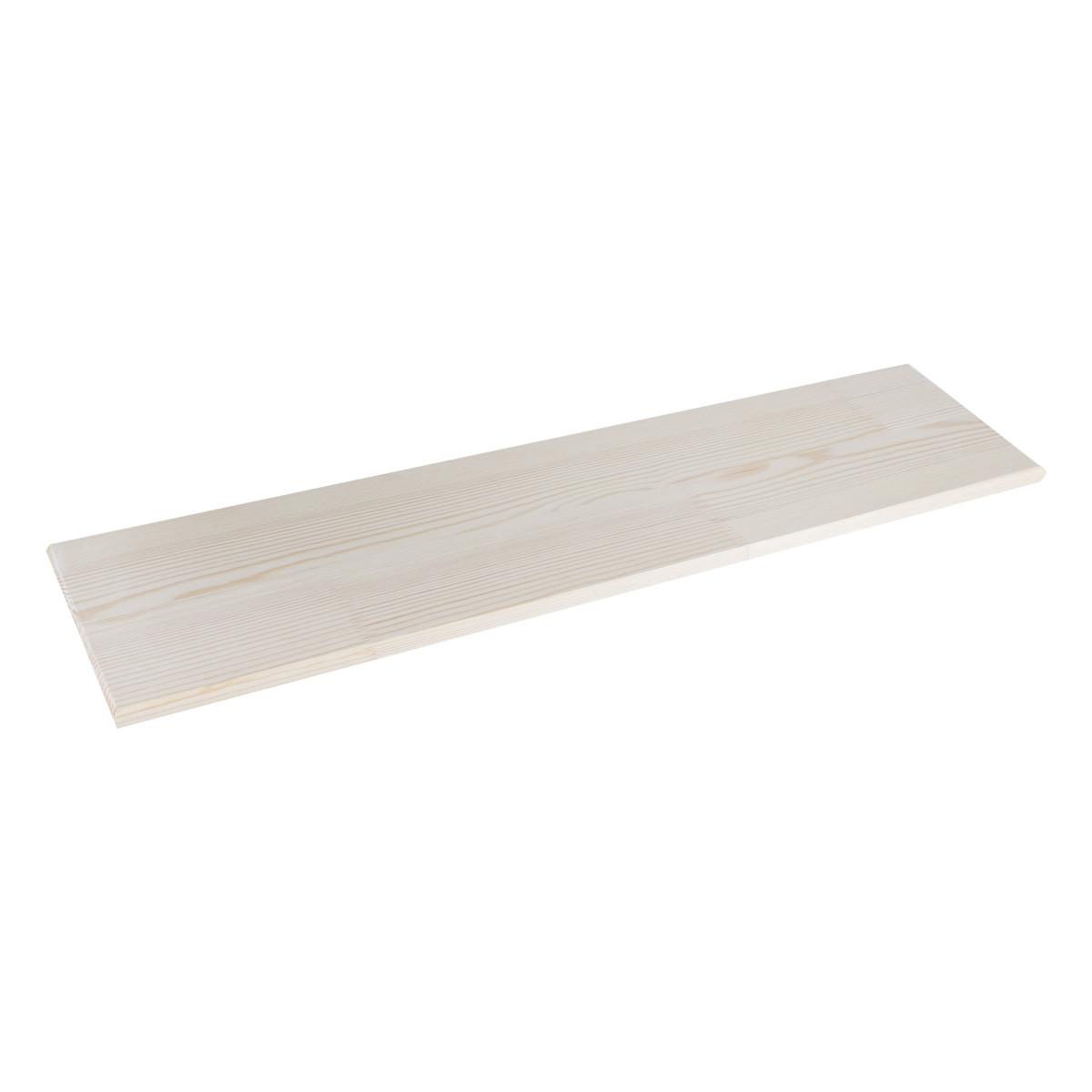 Полка мебельная Miolla 800х200х108 мм сосна
