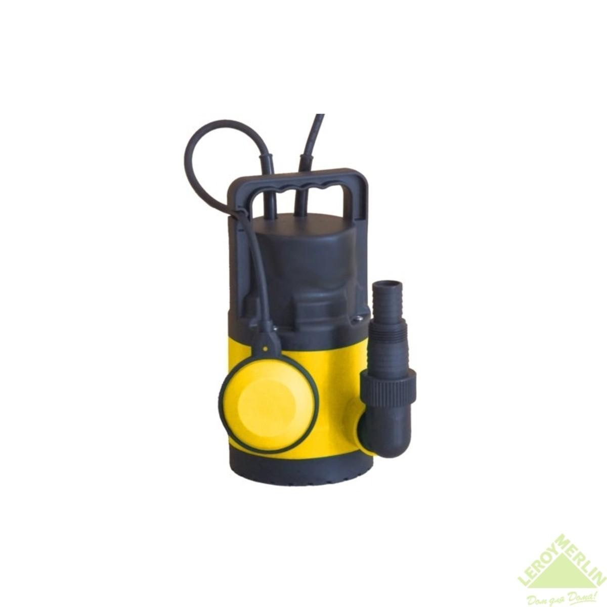 Насос погружной дренажный для чистой воды  6500 л/час