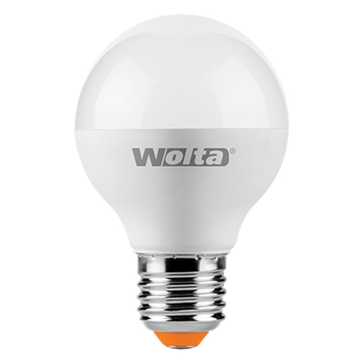 Лампа светодиодная WOLTA шар 6Вт Е27 тёплый