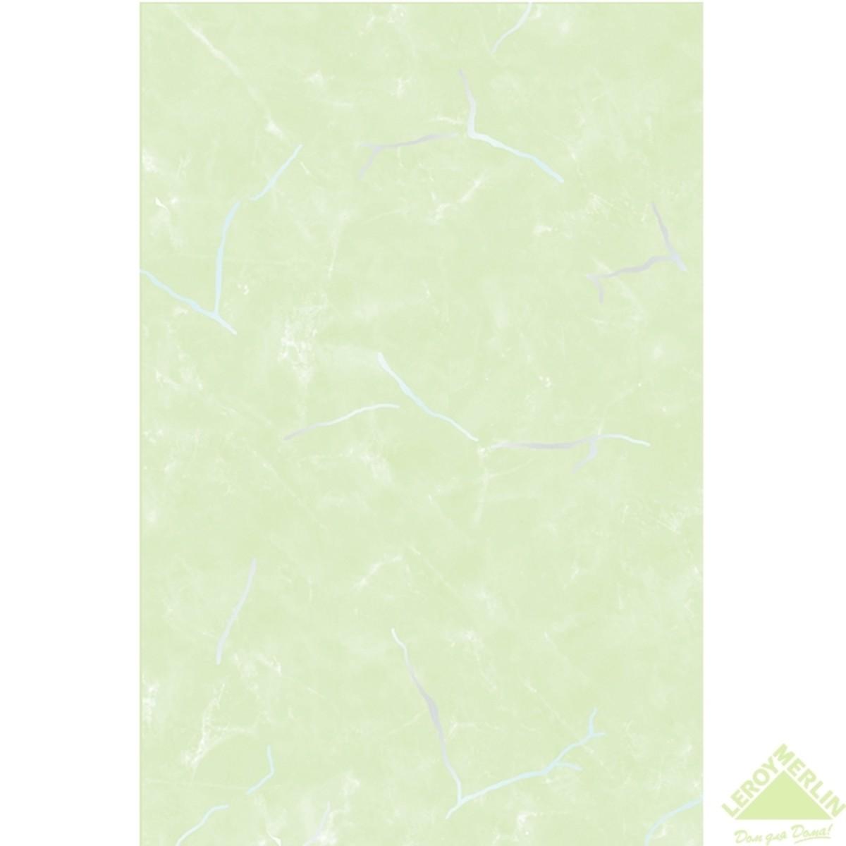 Плитка настенная Веста верх цвет салатовый 20х30 см 144 м2