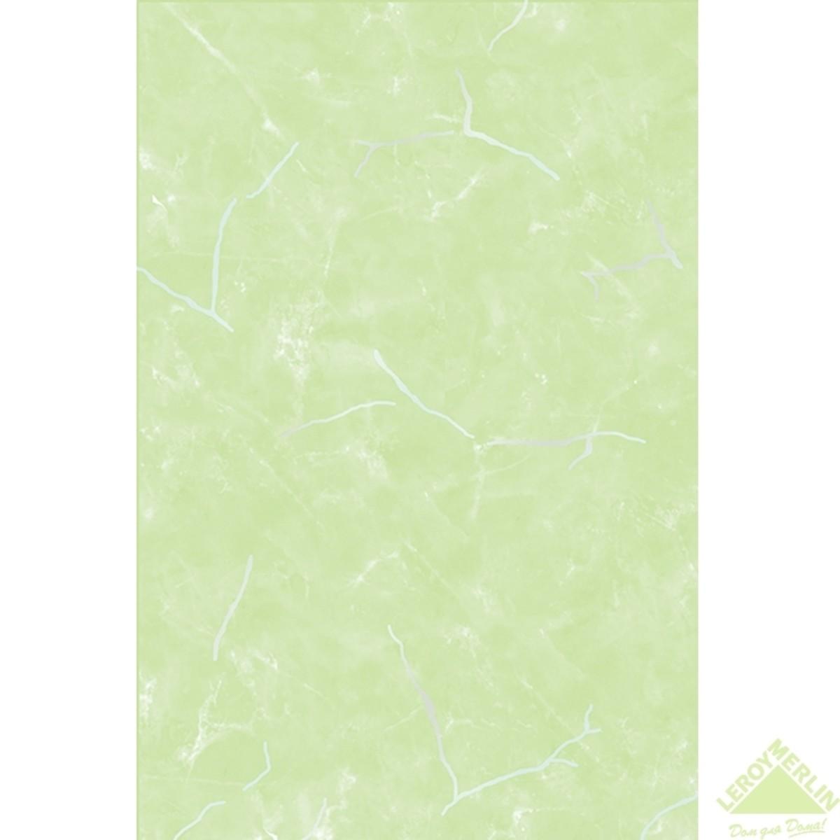 Плитка настенная Веста низ цвет салатовый 20х30 см 144 м2