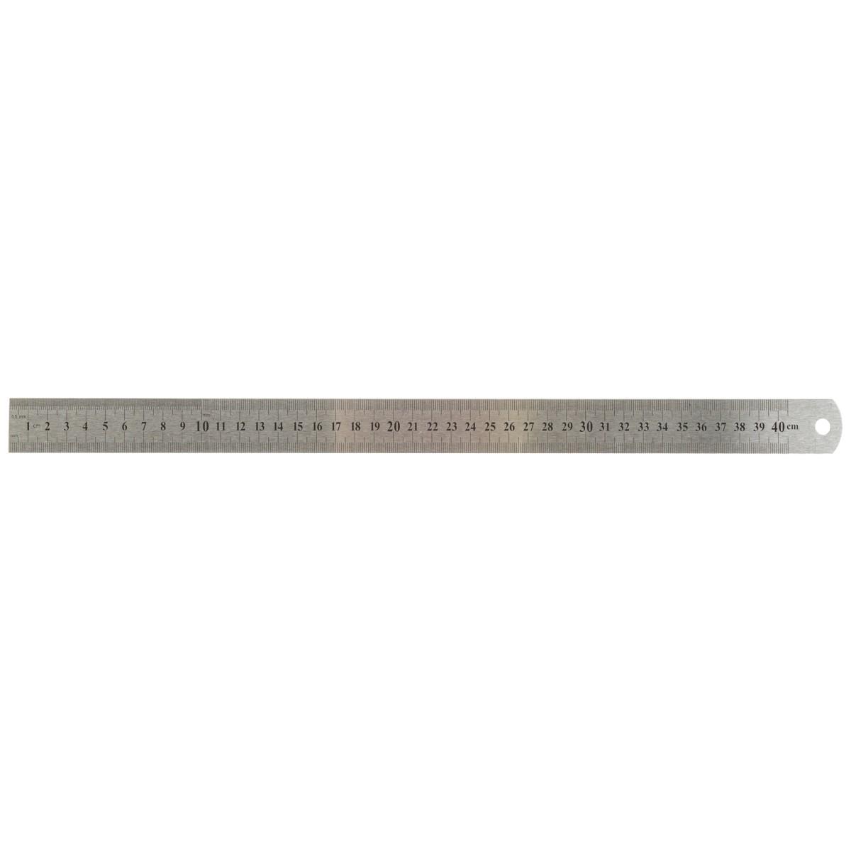 Линейка Archimedes 400 мм из нержавеющей стали