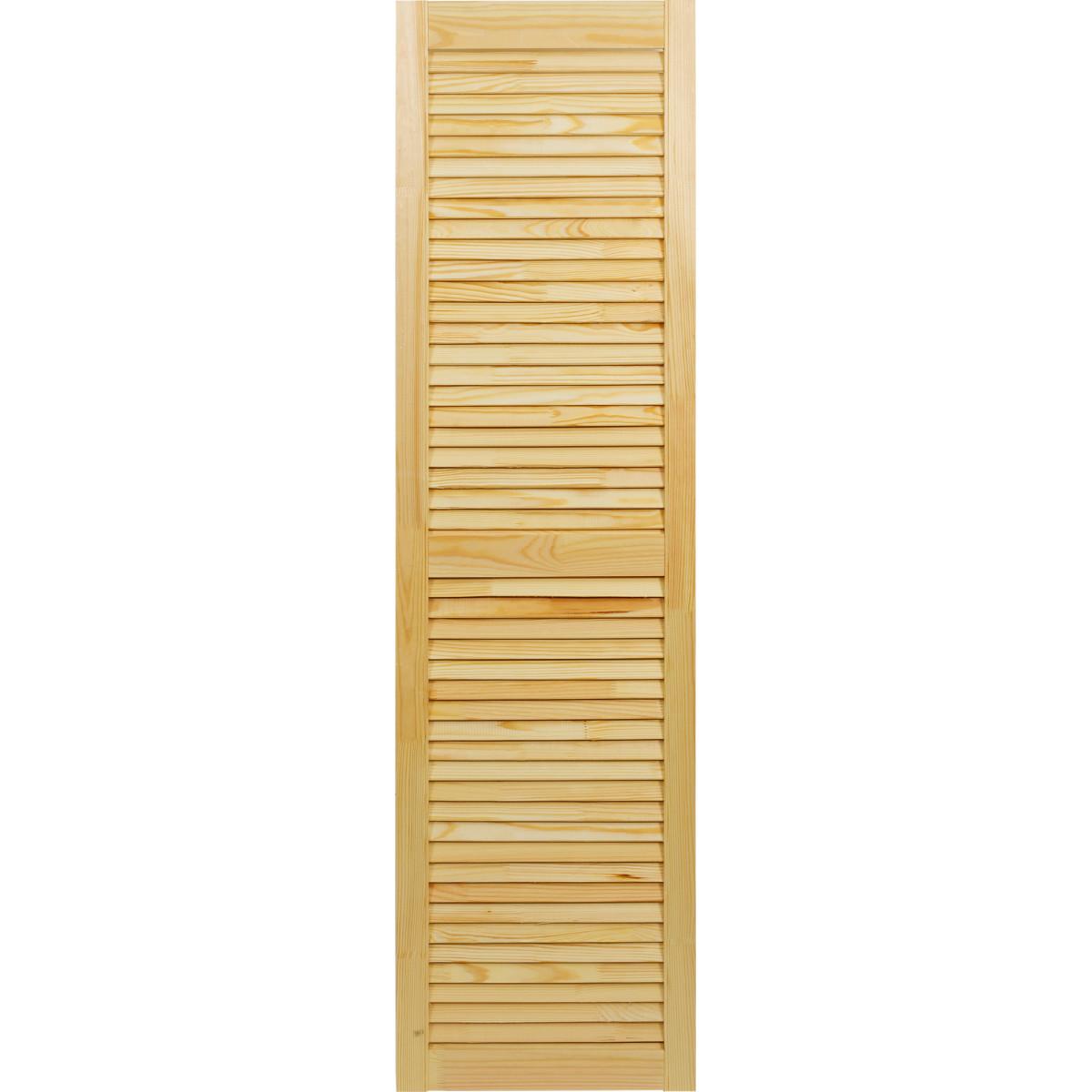 Дверка жалюзийная 1505х394х20 мм хвоя сорт А