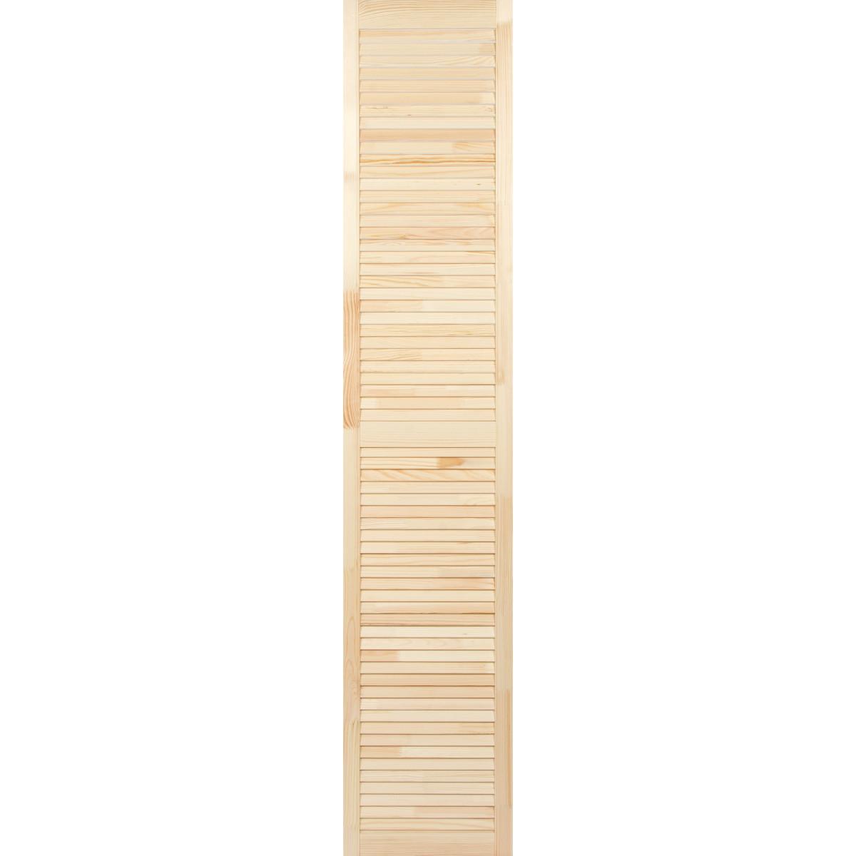 Дверка жалюзийная 2013х394х20 мм хвоя сорт А
