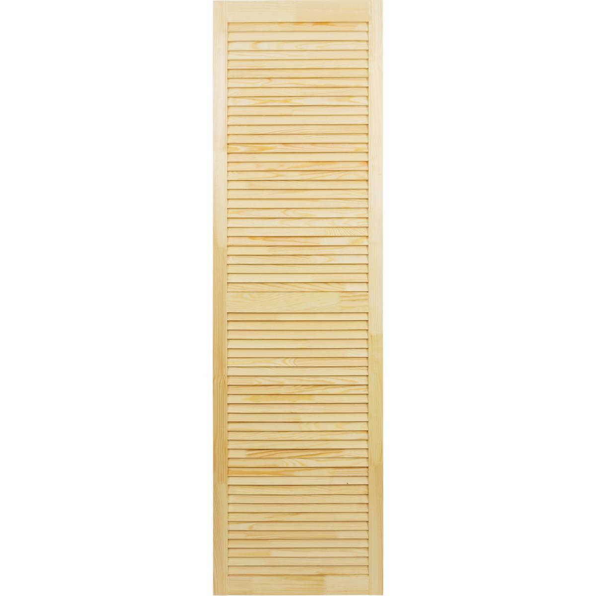 Дверка жалюзийная 1805х494х20 мм хвоя сорт А