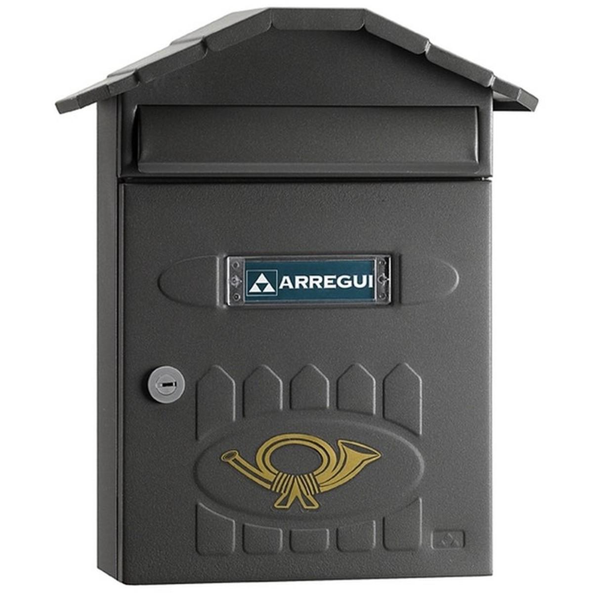 Ящик почтовый Villa цвет графит