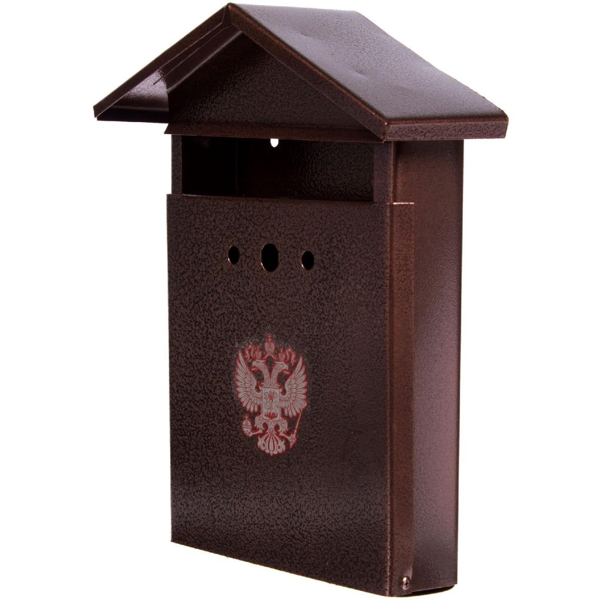 Ящик почтовый Элит цвет медный антик