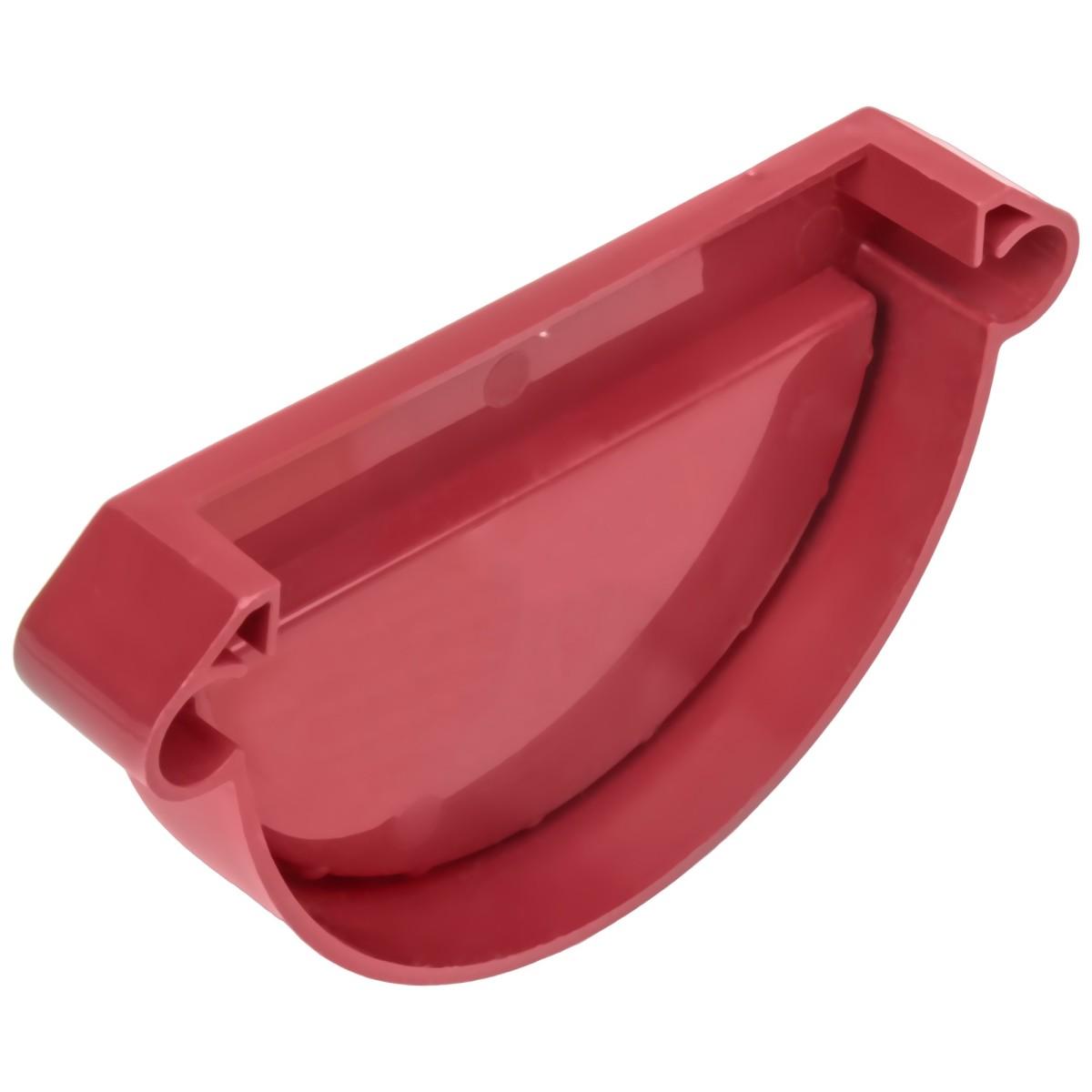 Заглушка желоба универсальная MUROL цвет красный