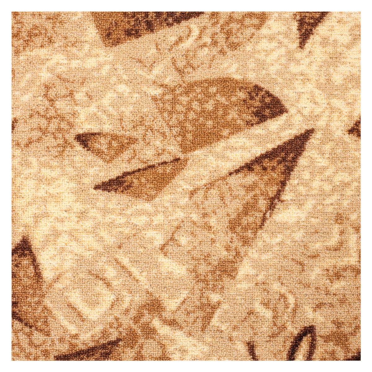 Ковровое покрытие Карамель 170 войлок 25 м цвет коричневый