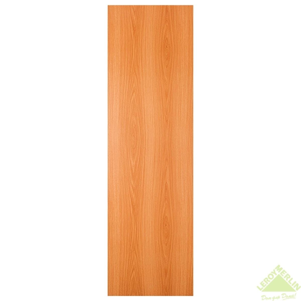 Дверь Межкомнатная Глухая 60x200 Ламинация Цвет Миланский Орех
