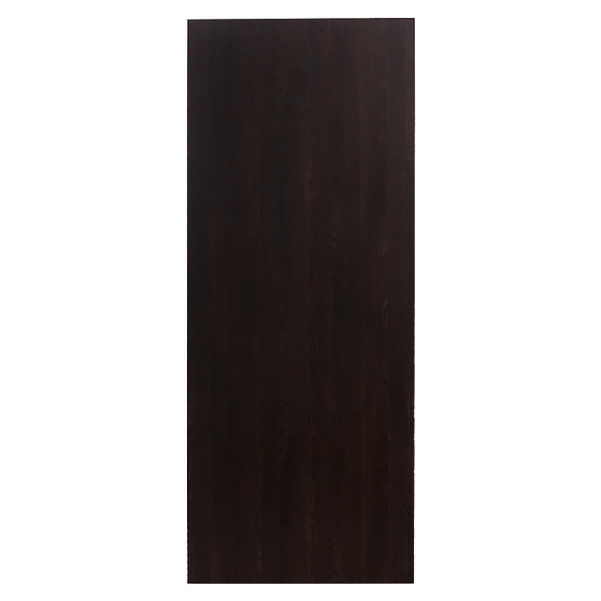 Дверь межкомнатная глухая 90x200 см ламинация цвет венге