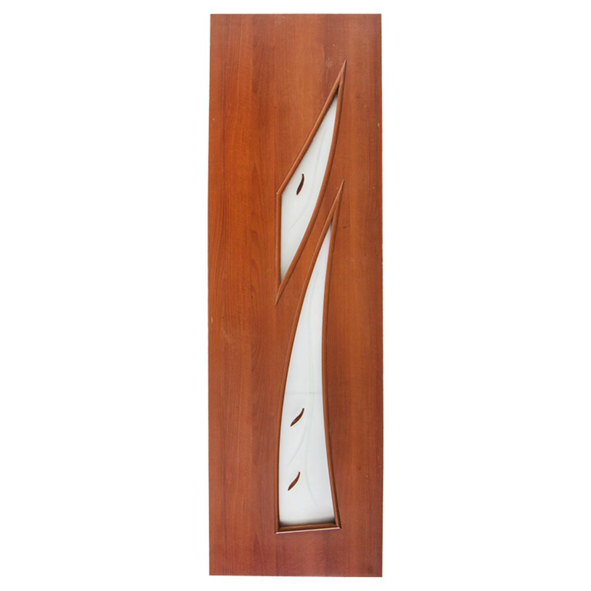 Дверь Межкомнатная Остеклённая Камея 600x2000 Ламинация Итальянский Орех