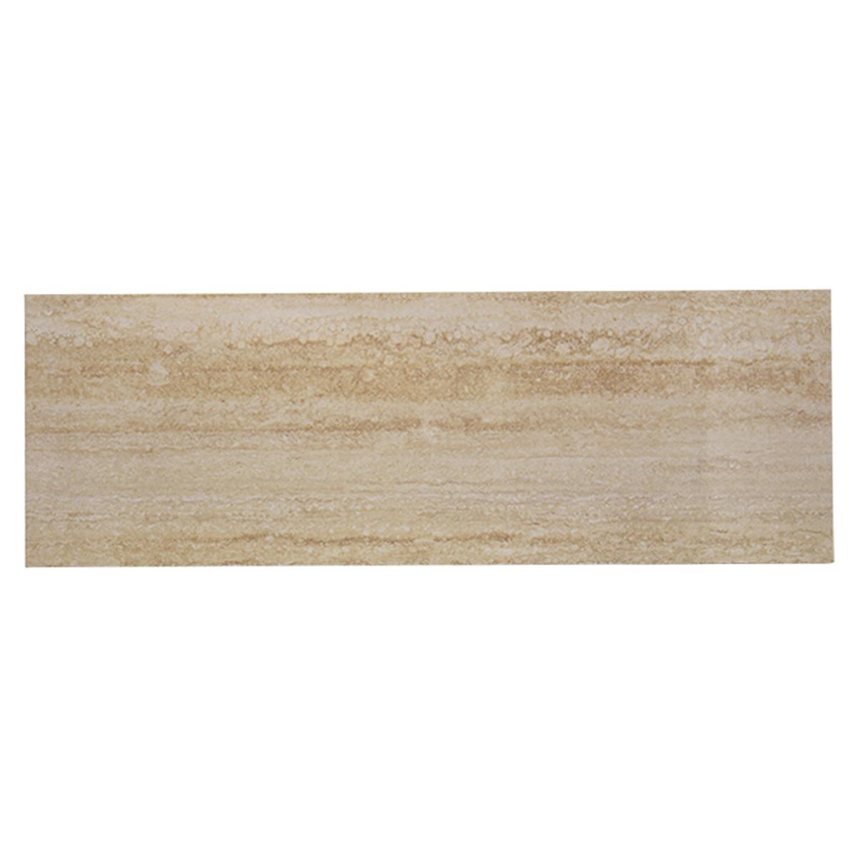 Плитка настенная Travertine 25х75 см 1.31 м2 цвет коричневый
