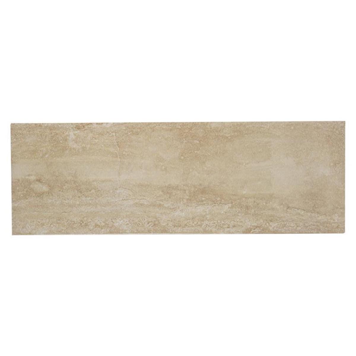 Плитка настенная Travertine Duna 25х75 см 1.31 м2 цвет бежевый